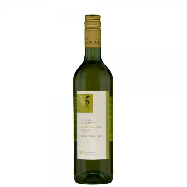 Grauer Burgunder - Eichstetter Vulkanfelsen - Qualitätswein